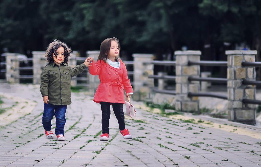 שתי ילדים